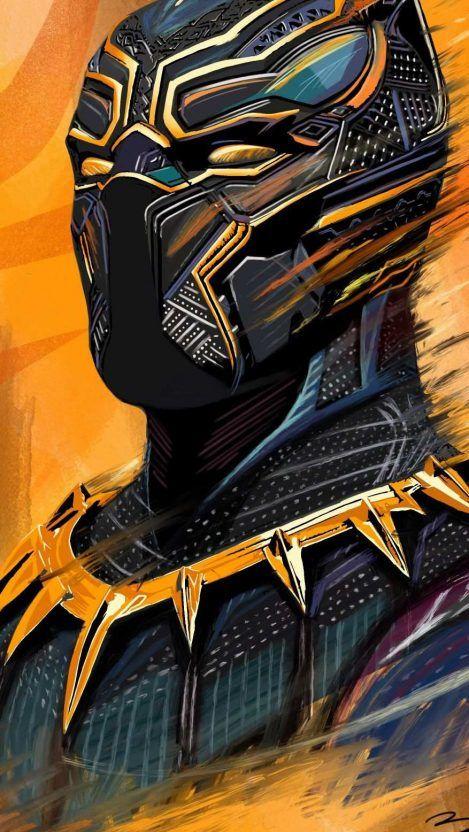 Black Panther Art Hd Iphone Wallpaper Iphone Wallpapers Marvel Comics Wallpaper Black Panther Art Panther Art