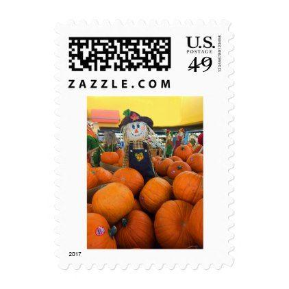 Pumpkin Self-Inking Rubber-Stamp