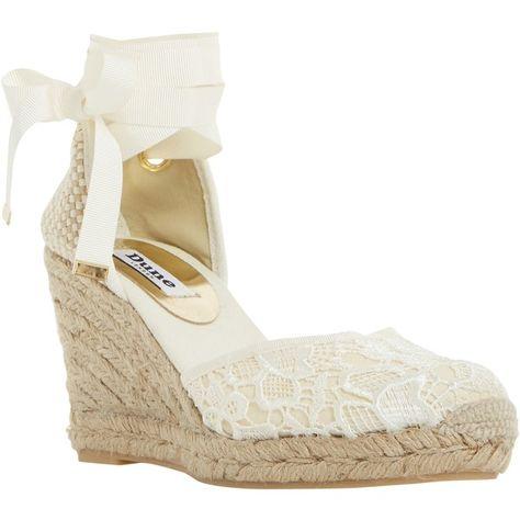 Dune Kloss Espadrille Wedge Sandals