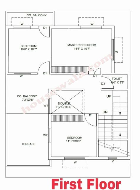 14 X 40 House Plans Inspirational House Plan 30 X 40 Housewala With Images In 2020 House Plans House Layout Plans Beautiful House Plans