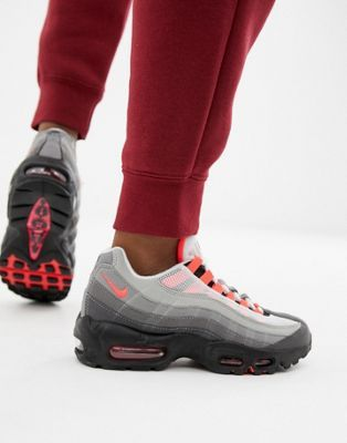 11b3911bde Nike Black And Grey Ombre Air Max 95 Og Trainers | Other | Black ...