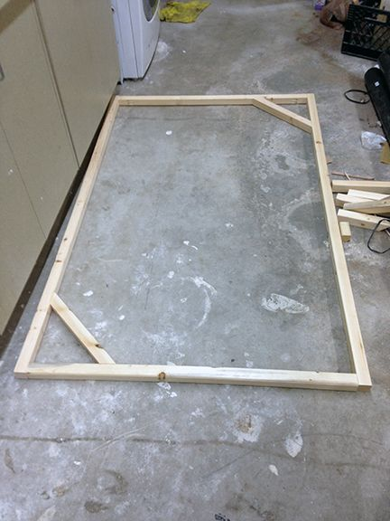 How To Build A Frame And Stretch Canvas Diy Canvas Frame