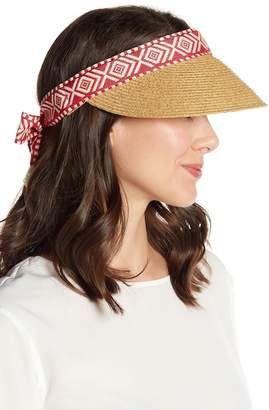 b7581dc4 SAN DIEGO HAT Straw Visor #hat #womens   Hats   Straw visor, Hats ...