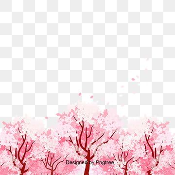 Vector Hand Painted Cherry Cherry Blossom Clipart Vector Cherry Blossoms Cherry Blossom Tourism Png Transparent Clipart Image And Psd File For Free Download Floral Art Cherry Blossom Petals Free Vector Graphics