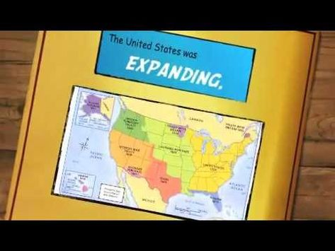 This was a really cool video that gives useful information as to what led up to westward expansion that would work as an intro video