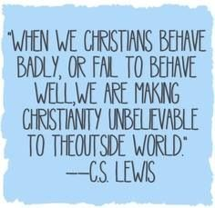 Image result for christians behaving badly