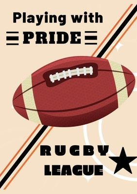 Pin By Lixiansheng On 插 画 Rugby Poster Rugby Gifts Things To Sell