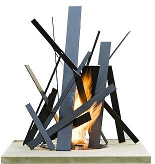 #Cool Designed FIRE PIT, from £2,430, Cathy Azria at BD Design, bd-designs.co.uk
