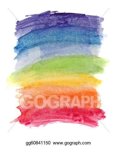 Watercolor Rainbow Organic Duvet Cover Sham Cool In 2019