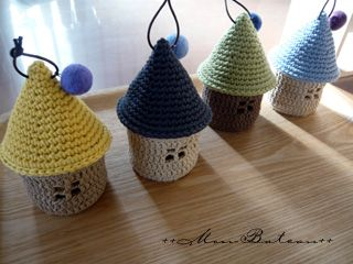 かぎ針編み おうち型小物入れ Mon Bateau Handmade Life 楽天ブログ かぎ針編みのラグ かぎ針編み 小物入れ かぎ針編みのパターン