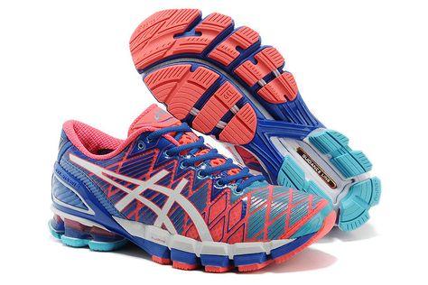 Asics Gel Kinsei 5 Wmns Running Shoes Orange Blue White