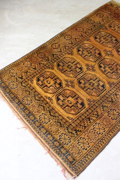 Golden Afghan Wool Rug ריהוט In 2019 Rugs