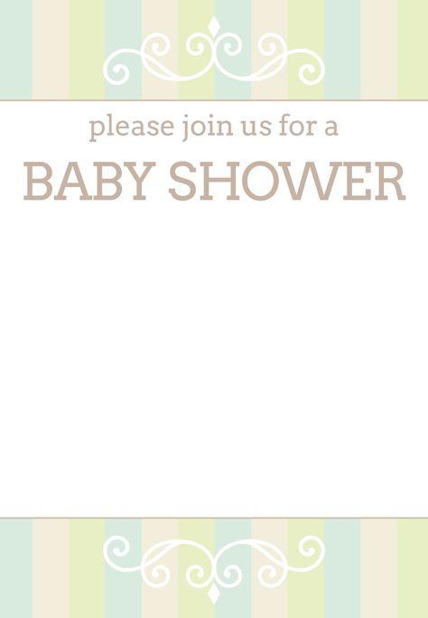 #Baby #Shower #Invitation Free Printable Baby Shower Invitation