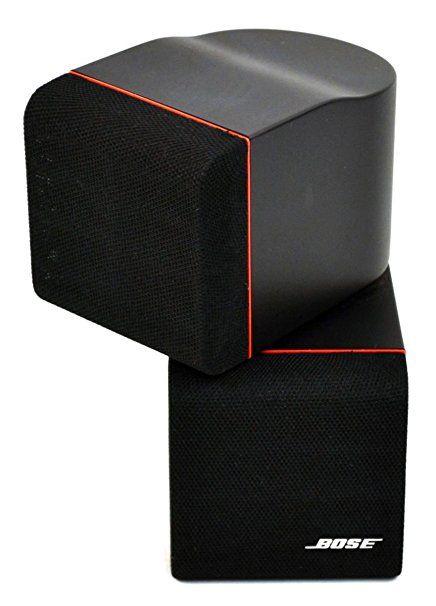 Bose Double Cube Speaker 1st Gen Redline Black 1ea Best Home