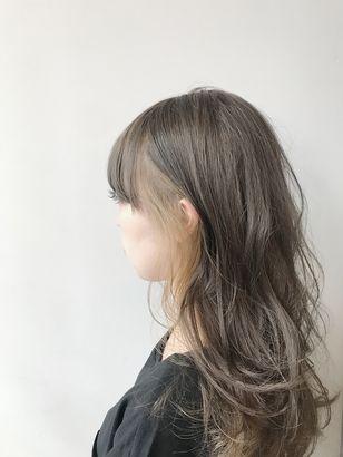 2020年冬 ロング インナーカラーの髪型 ヘアアレンジ 人気順 5