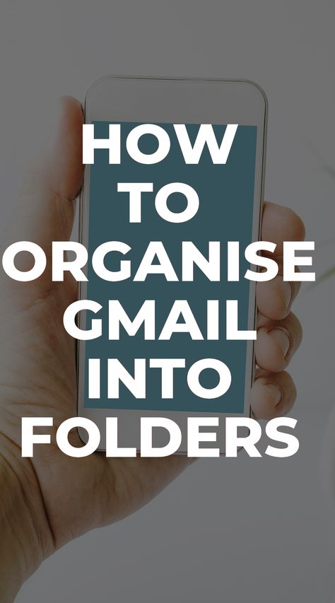 How To Organise Gmail Into Folders is something that you should learn if you are using Gmail and want to get to inbox zero.