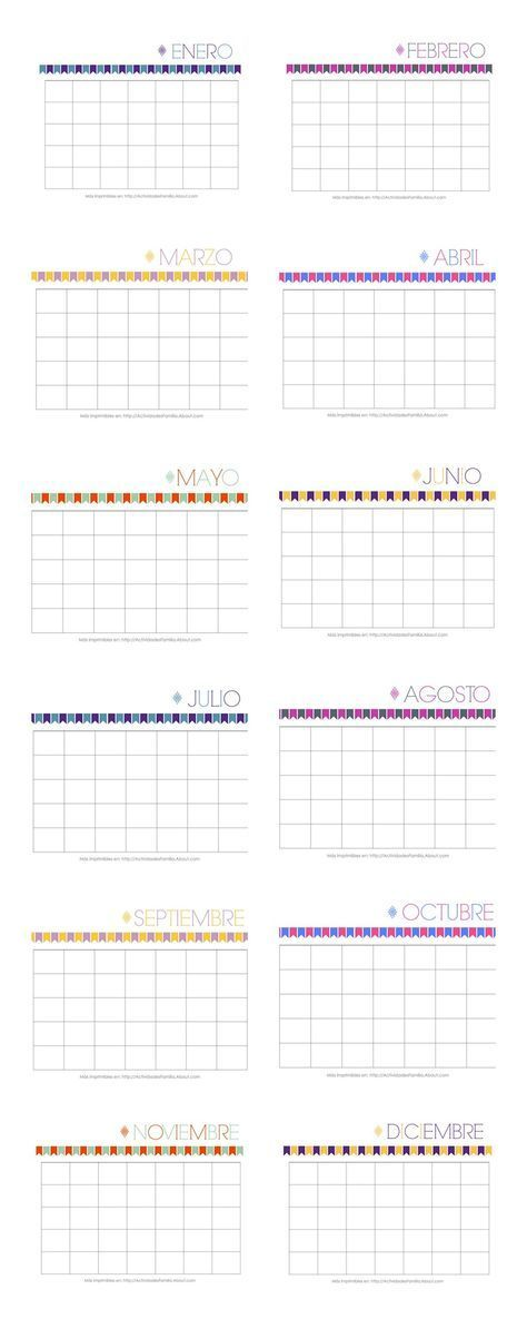 Calendarios personalizables para imprimir y organizar tu mes calendarios personalizables son lindos y sirven para cualquier ao printable calendars solutioingenieria Images