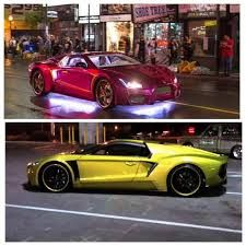 The Jokers Car Is An Infiniti With A Vaydor Body Kit Car
