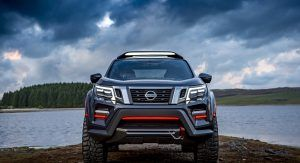 Nissan Navara Dark Sky Concept Packs Plenty Of Star Power Thanks Its To Observatory Class Telescope Carscoops Nissan Navara Nissan Nissan Frontier