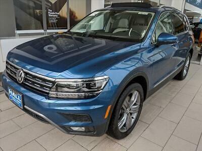 Ebay Advertisement 2019 Volkswagen Tiguan 2 0t Sel Premium 4motion 2019 Volkswagen Tiguan Silk Blue Metallic With 2 Volkswagen Cars Trucks Volkswagen Models