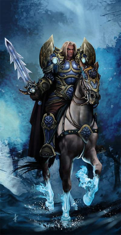 Death Knight - Alliance by Tanja-A | DnD, NWN, WOW, Pathfinder and ...