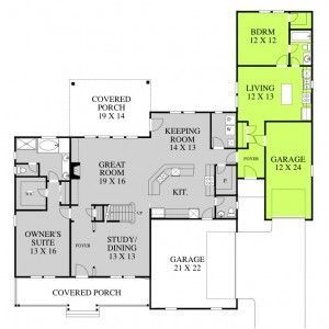 Portfolio Legacy Mother In Law Suite Opal Design Group Basement House Plans In Law House Multigenerational House Plans