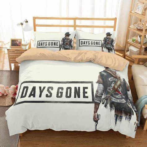 3D Customize Days Gone Bedding Set Duvet Cover Set Bedroom Set Bedline | Three Lemons Hometextile