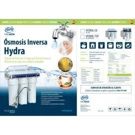 ósmosis Inversa 5 Etapas Hydra 50 ósmosis Inversa Standard 10 Depuradora De Agua Mantenimiento De Piscinas Depuradora