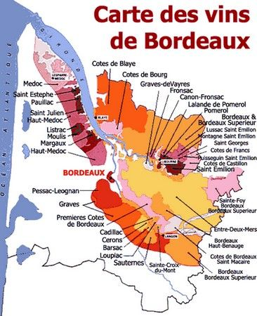 vin de bordeaux carte 26 Best French wine images | Wine, French wine, Wine knowledge