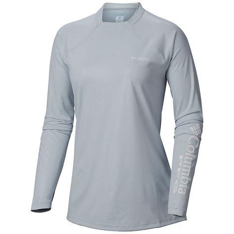Women S Pfg Tidal Deflector Zero Long Sleeve Shirt Long Sleeve