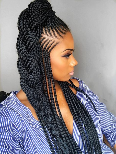 Douala Cameroon In 2020 Braided Hairstyles Updo African Braids
