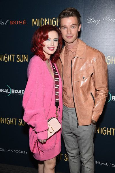 Bella Thorne and Patrick Schwarzenegger attend the screening of 'Midnight Sun' at The Landmark at 57 West in NYC.