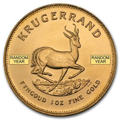 South Africa 1 Oz Gold Krugerrand Random Year Gold Krugerrand Gold Coins For Sale Buy Silver Coins
