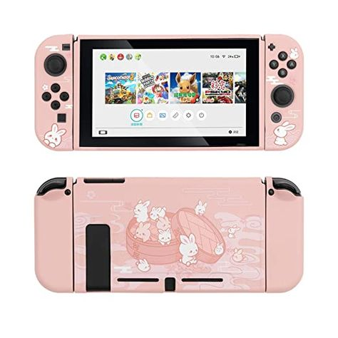 Nintendo Ds, Nintendo Switch 2017, Gaming Room Setup, Gamer Setup, Instax Mini Camera, Nintendo Switch Accessories, Gaming Station, Cute Patches, Seal Design