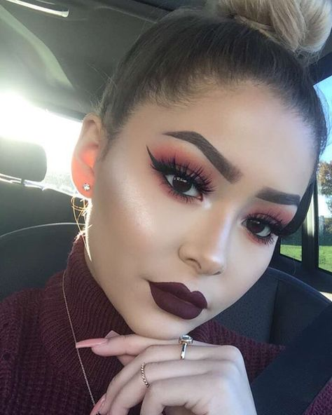 This Fiery Makeup Trend Gives a Whole New Meaning to the Term