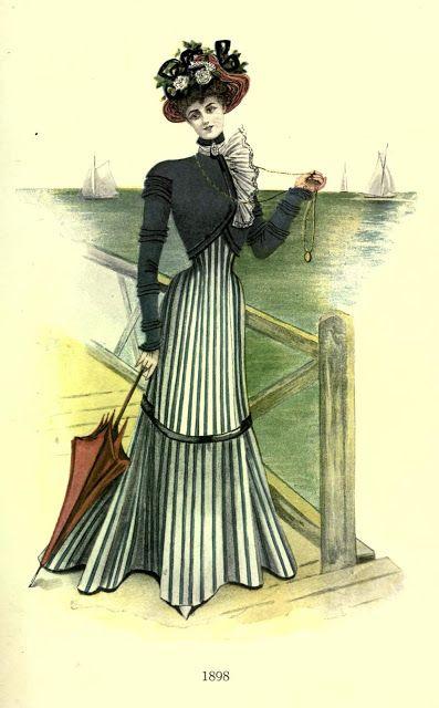 1898 Fashion Plate