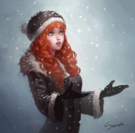 Snow by SenRyuji on DeviantArt