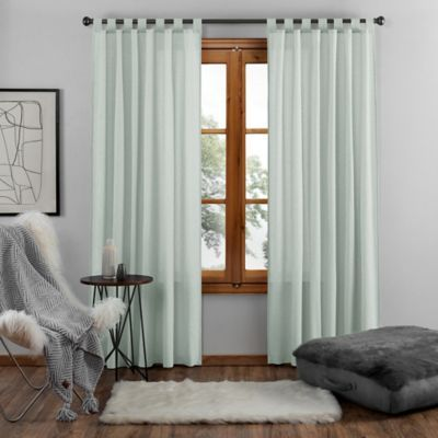 Ugg Riley 95 Inch Tab Top Window Curtain Panel In Agave Panel