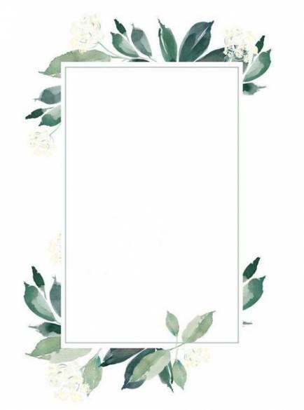 Flowers Background Wedding Card 53 Trendy Ideas Flower Background Wallpaper Flower Wreath Illustration Wreath Illustration