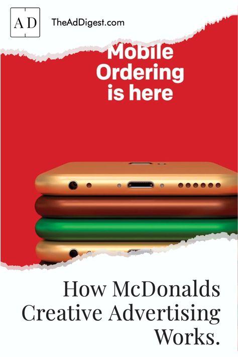 How McDonalds Creative Advertising Works.
