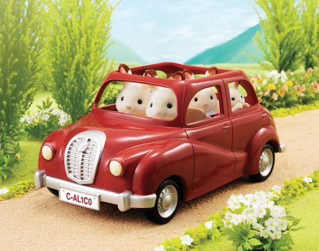 Calico Critters Cherry Cruiser Red Toy Car