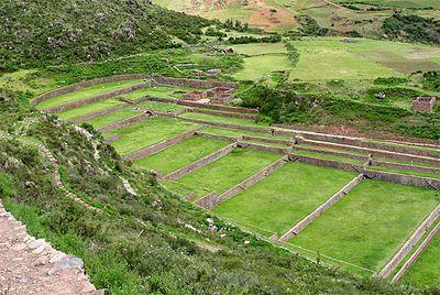 Tipón Wikipedia La Enciclopedia Libre Cusco Peru Water