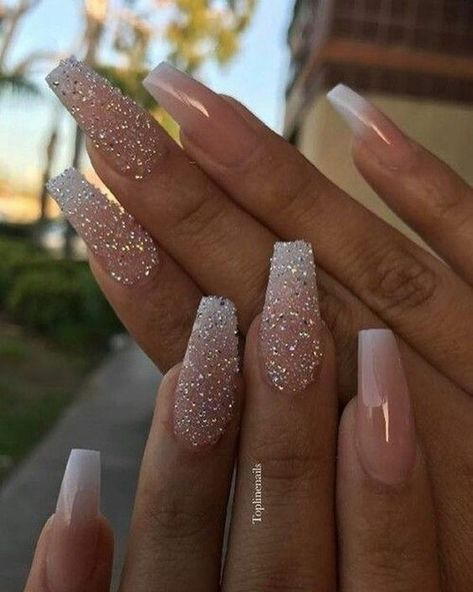 35 Dreamlike Unicorn Nail Designs You will Like nails, nail design, unicorn nails, pink nails