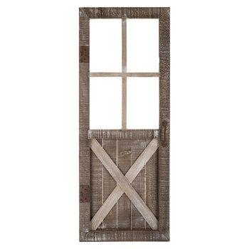 Whitewash Arch Metal Wall Decor Wood Wall Decor Rustic Doors Wall Decor