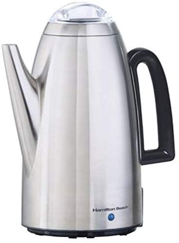 New Hamilton Beach 12 Cup Electric Percolator Coffee Maker Cool Touch Handle Stainless Steel 40614r Online Toplikeclothes In 2020 Percolator Coffee Percolator Coffee Maker Percolator