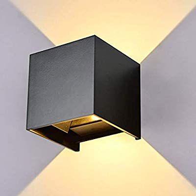 Lanfu Led Aluminum Waterproof Wall Lamp Waterproof Outdoor Light 6w 100 277v 3000k Adjustable Outdoor Wall Light W Outdoor Wall Lighting Wall Lights Wall Lamp