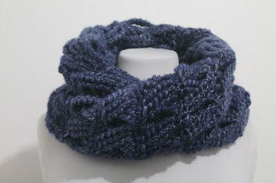 Axia di Mithril: Uncinetto: maglie intrecciate per una sciarpa