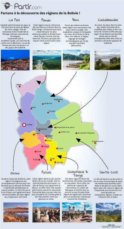 Carte Bolivie Region Avec Images Carte Touristique Bolivie
