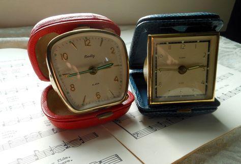Travel Alarm Clocks  @ Quilted Nest.