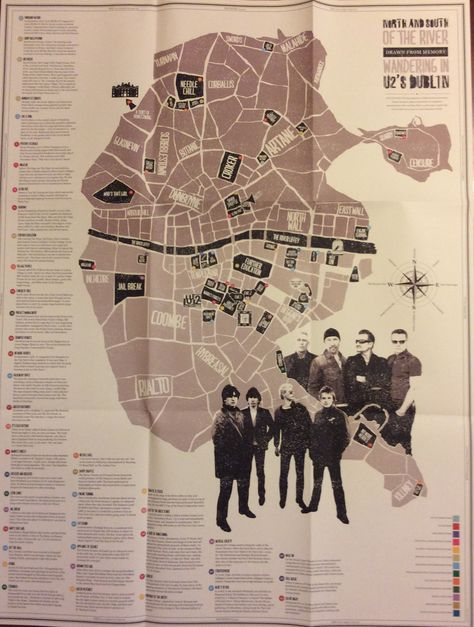 U2 | North and South of the River :Drawn From Memory: Wandering in U2's Dublin